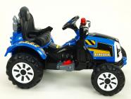 Elektrický traktor Kingdom - modrý