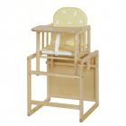 Dětská jídelní židlička Aga