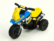 Elektrická motorka Racing sport 6V modrá