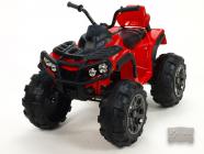 Elektrická čtyřkolka Predator s 2,4G DO červená