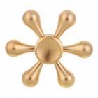 Fidget Spinner - Teardrop zlatý