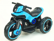 Elektrická tříkolka POLICE modrá