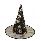 Čarodějnický klobouk černý - 1