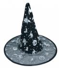 Čarodějnický klobouk černý - 2