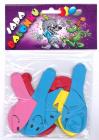 Nafukovací balónky - barevné s potiskem Smile 9 ks