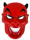 Maska karnevalová - Čert plastová