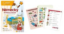 Kouzelné čtení - Kniha Německý obrázkový slovník
