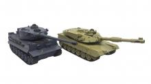 Bojující RC tanky 1:28 - interaktivní IR bitva