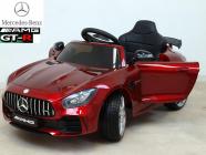 Elektrické auto Mercedes AMG GT R vínové