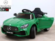 Elektrické auto Mercedes AMG GT R zelené