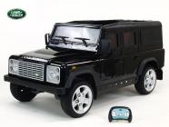 Elektrické auto Land Rover Defender - černé