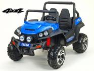 Elektrická Bugyna dvoumístná Bugi V-Twin 4x4 - modrá