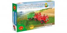 Malý konstruktér - FARMER Traktor s přívěsem