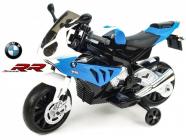 Elektrická motorka BMW S1000 RR, licence, bike 12V-modrá