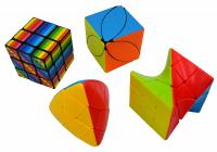 Magická kostka Magic Cube set 4 ks
