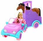 Panenka Sparkle Girlz s přívěsem pro koně