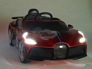 Elektrické auto Bugatti Divo červené