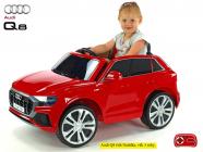 Elektrické auto Audi Q8 s 2,4G DO, Červený