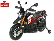 Elektrická motorka Aprilia Dorsoduro červená
