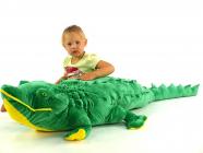 Plyšový krokodýl Soft, délky 160cm