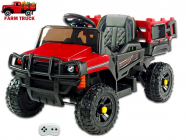 Elektrické auto Auto farmářské červené