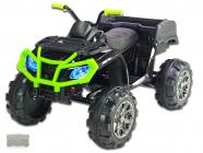 Elektrická čtyřkolka Predator XXL s výklopnou korbou, černozelená