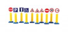 Dopravní značky, příslušenství, 36 dílů