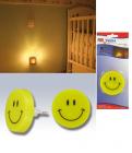 Noční neonová lampička bez vypínače
