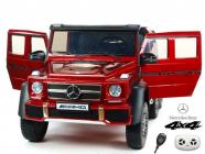 Elektrické auto džíp Mercedes G63 AMG s 2,4G, 4x4, vínová metalíza, 6 kol