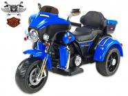 Elektrická tříkolka Big chopper Motorcycle, modrý