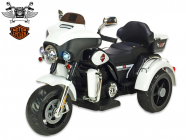 Elektrická tříkolka Big chopper Motorcycle, bílý