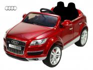 Elektrické auto Audi Q7 s 2,4G, jednomístné, vínová metalíza