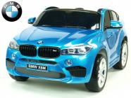 Elektrické auto BMW X6M s 2,4G, dvoumístné, modrá metalíza