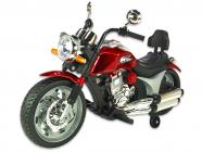 Elektrická motorka chopper Route 66, lakovaný červený