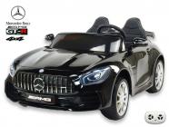 Elektrické auto Mercedes AMG GT-R s 2,4G, 4x4, dvoumístný, černá metalíza