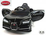 Elektrické auto Bugatti Chiron s 2.4G, luxusní sporťák, černý