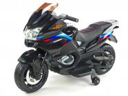 Elektrická cestovní motorka Topspeed s plynovou rukojetí a nožní brzdou, černá