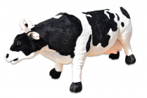 Plyšová stojící kráva délka 84cm, výška 47cm