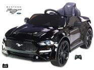 Elektrické auto Ford Mustang GT s 2.4G, 24V, lakovaný černý