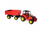 Traktor Mistr s přívěsem