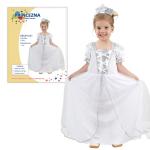 Princezna sněhová - dětský kostým