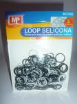 LOOP SELICONA - mix černá 906