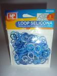 LOOP SELICONA - mix modrá 906