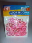LOOP SELICONA - mix růžová 906