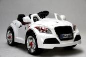 Elektrické auto sportovní cabrio TT s DO bílé