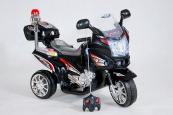 Elektrická motorka dálniční policie s DO-černá