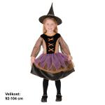 Čarodějka - dětský kostým malý
