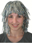 Paruka stříbrná - karneval