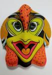 Maska karnevalová - Kohout - plast