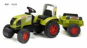 Šlapací traktor Claas Arion 540 zelený